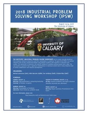 2018 Industrial Problem Solving Workshop (IPSW) | Pacific